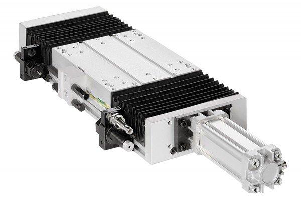 Lineartisch - Pneumatikantrieb - TP100