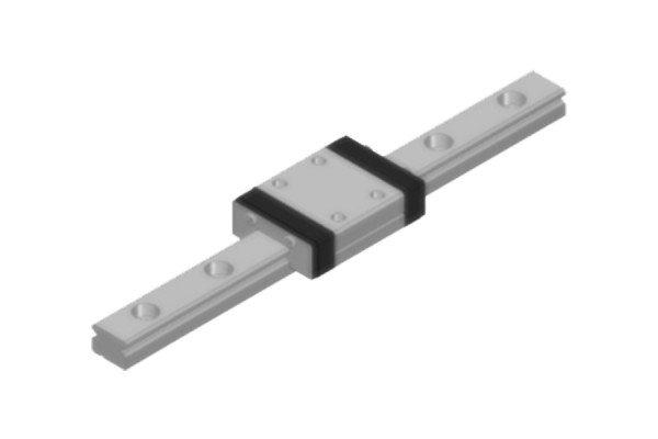 Tretter-Miniaturführung - Profilschiene - TMO-07