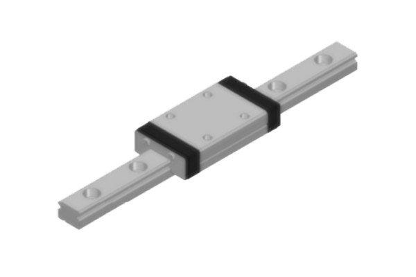 TRETTER-Miniaturführung - Standardwagen - lang - TM-07L