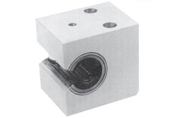 Kugelbuchseneinheit - Alulagereinheit - seitlich offen, einstellbar - LE72-230